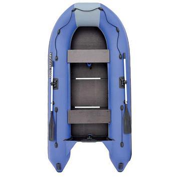 Лодка «Муссон» 3200 СК, слань+киль, цвет серый/синий