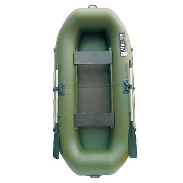 Лодка «Муссон» В-270 PC реечная слань, цвет олива