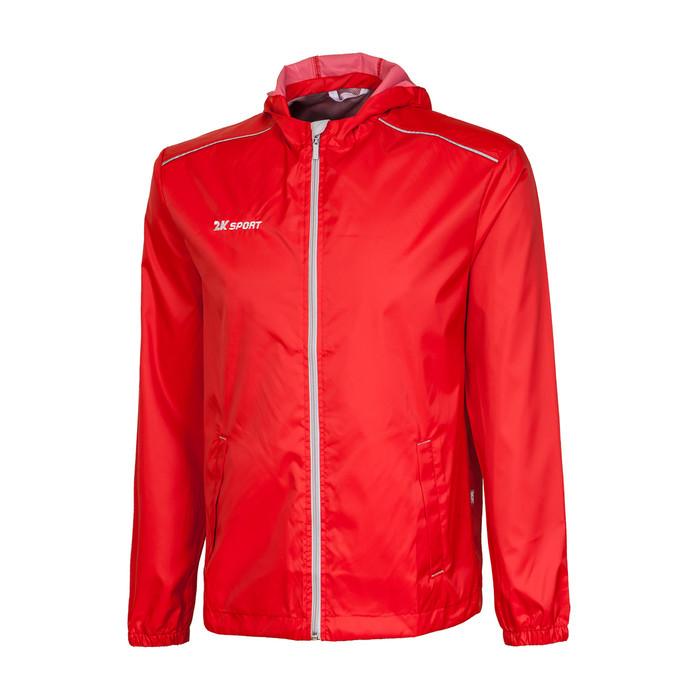 Куртка ветрозащитная 2K Sport Futuro, red/silver, размер M