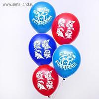 """Воздушные шары «С Днем Рождения», Мстители, 50 шт., 12"""""""