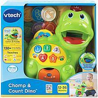 Интерактивная развивающая игрушка для детей «Динозаврик» VTech, фото 1