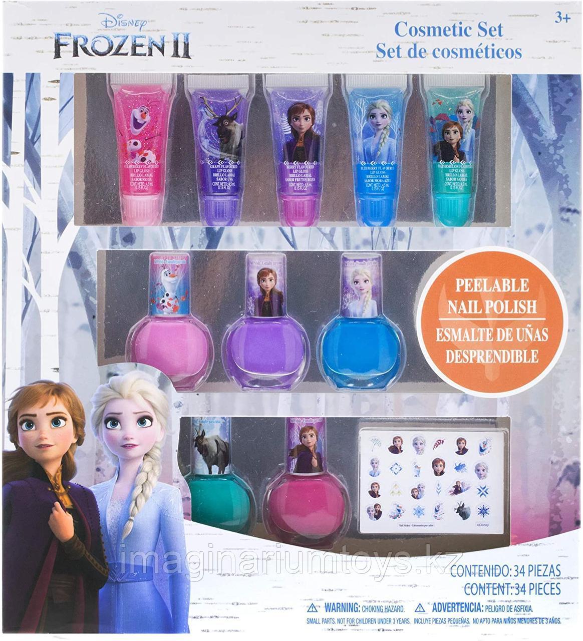 Детская косметика Frozen Лак для ногтей, блеск для губ Townley