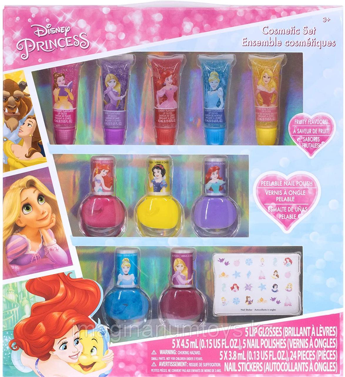 Детская косметика Принцессы Лак для ногтей, блеск для губ Townley