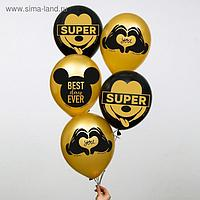 "Воздушные шары ""Mickey"", Микки Маус (набор 5 шт) 12 дюйм"