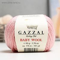 """Пряжа """"Baby Wool"""" 20% кашемир, 40% меринос. шерсть, 40% акрил 175м/50гр (845)"""