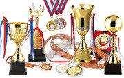 Награды (кубок и медаль)