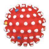 Trixie 3428 Виниловый мячик с шипами Игрушка для собак, Диаметр 6см.
