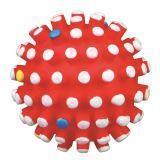 Trixie 3429 Виниловый мячик с шипами Игрушка для собак, Диаметр 10см.