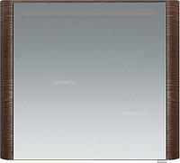 Шкаф зеркальный AM.PM Sensation M30MCL0801TF, 80 см, левый, табачный дуб