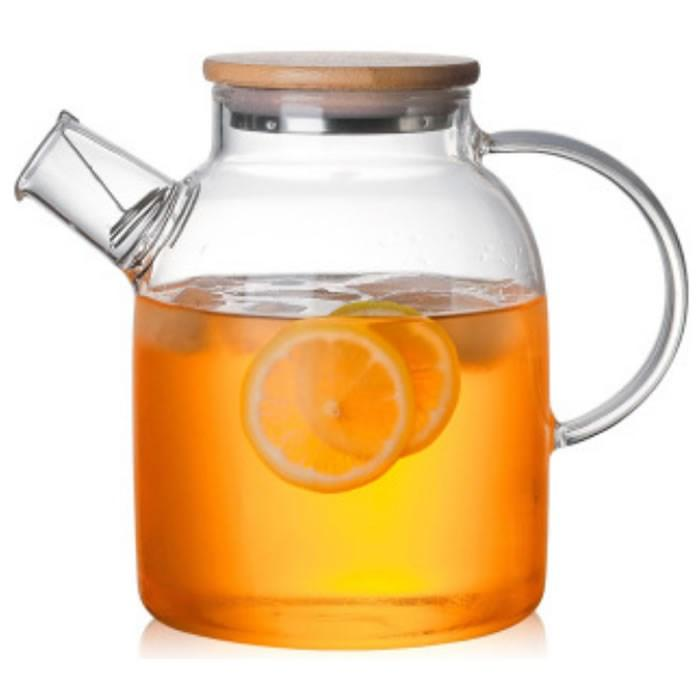 Заварочный чайник из жаропрочного стекла  1,7 л