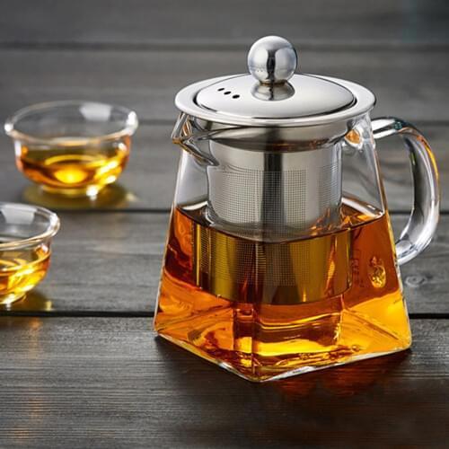 Заварочный чайник из жаропрочного стекла 450 мл