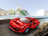 LEGO Speed Champions 76895 Ferrari F8 Tributo, конструктор ЛЕГО