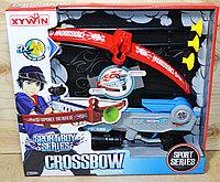 9821 Арбалет Crossbow Bowand Arrow 3 стрелы 36*33, фото 1