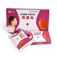 Тампоны Clean Point ( Тюльпан)  лечебно-профилактические 6 шт.