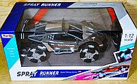 6912-4P НОВИНКА!!! Spray runner Супер машина выпускает дым, на р/у 42*12см, фото 1
