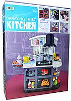 8775 Кухня с водой Spraing mist, 2 духовки, 52предметов, 61*47см, фото 1
