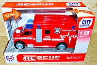 A1117-3 Пожарная машина,звук, 2 вида 24*15см, фото 1