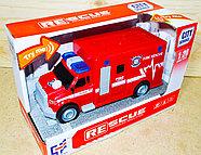 A1117-3 Пожарная машина,звук, 2 вида 24*15см, фото 2