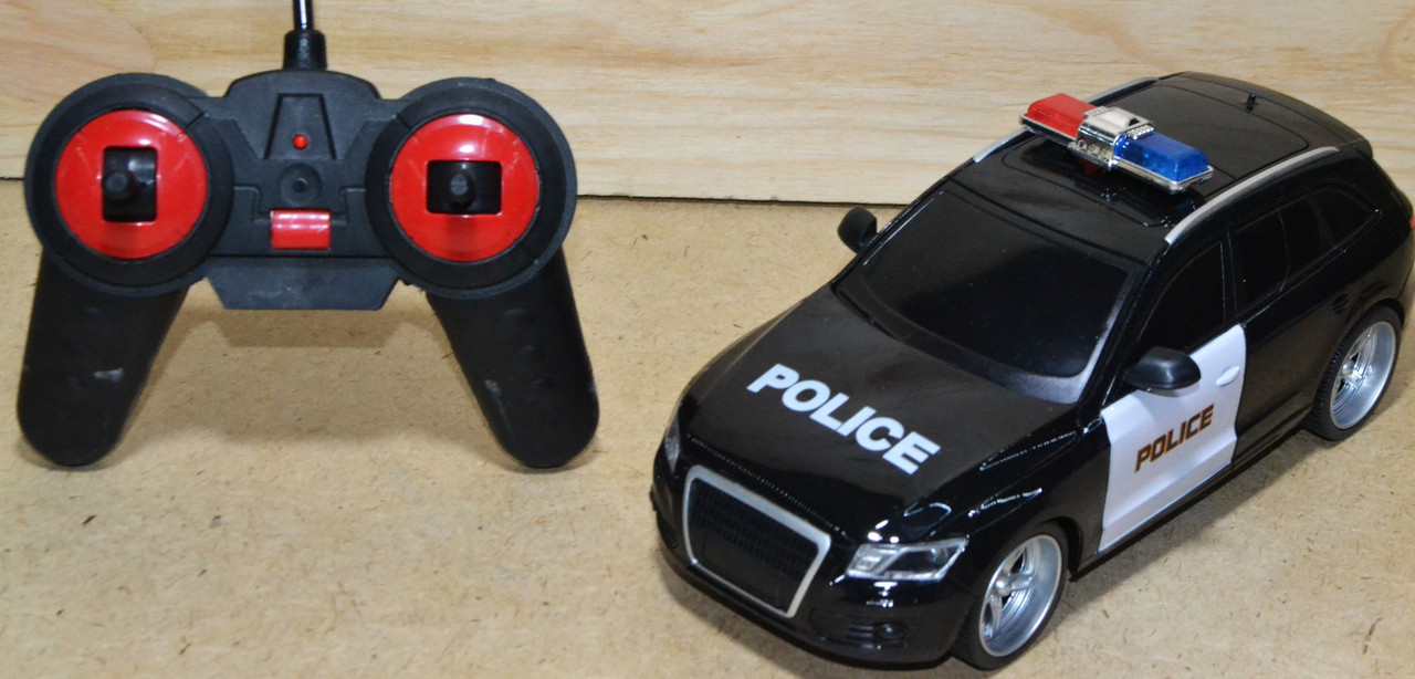 2082-4A Полицейская машина Police Car на р/у 4 функции 27*11