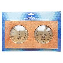 Термогигрометр для сауны Стеклоприбор ТГС-7 (термометр от 0 до +150°C, гигрометр от 0 до 100%)