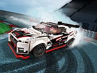 LEGO Speed Champions 76896 Nissan GT-R NISMO, конструктор ЛЕГО