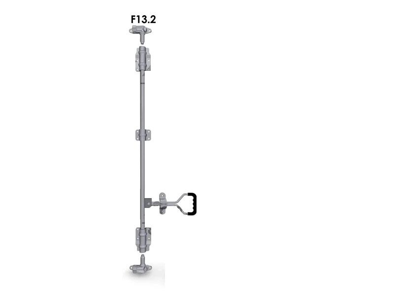 Запор штанговый d=22 с прутковой рукояткой (комплект) F13.2