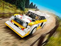 LEGO Speed Champions 76897 1985 Audi Sport quattro S1, конструктор ЛЕГО