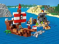 LEGO Minecraft 21152 Приключения на пиратском корабле, конструктор ЛЕГО