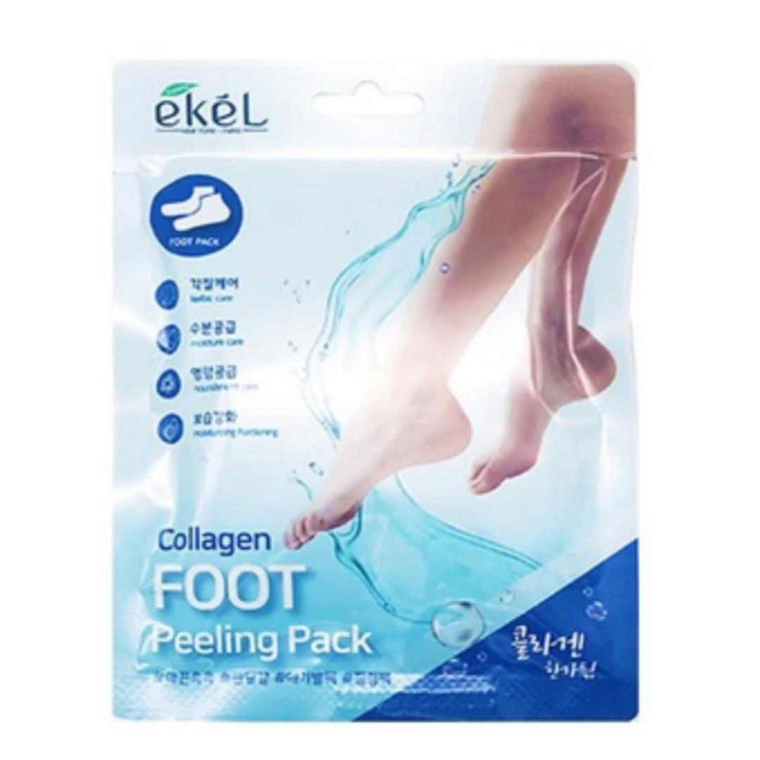 Пилинг-Носочки с Коллагеном Ekel Collagen Foot Peeling Pack 40 g.