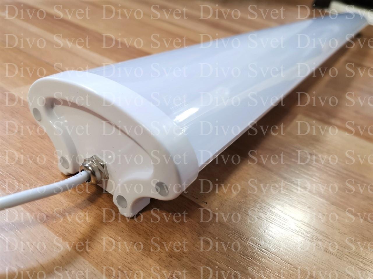Led ДПО 120см 54W IP65 6500К. Светодиодный пылевлагозащищенный светильник IP65