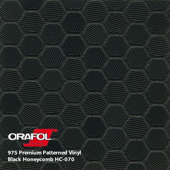 ORACAL 975 HC Honeycomb Черный (1.52m*50m)