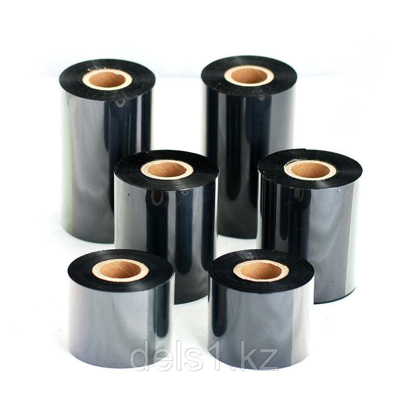 Красящая лента   (риббон)  воск (wax)  110мм/74м