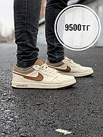 Кеды Nike Jordan низк беж корич, фото 1