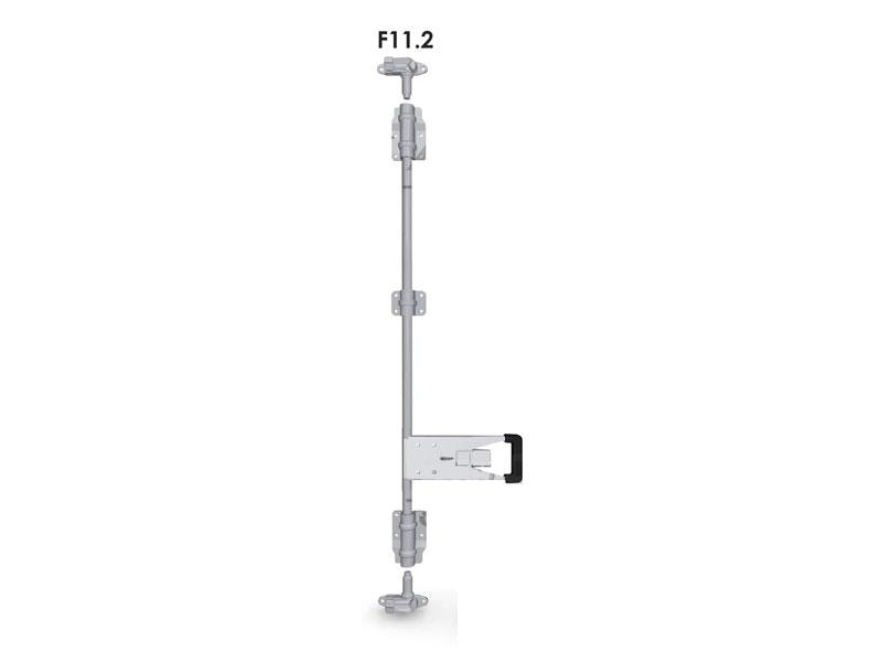 Запор штанговый d=22 с ручкой Push (комплект) F11.2
