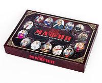 Карточная игра «Мафия» с масками в коробке, фото 1