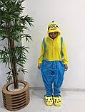 Детская пижама кигуруми Миньон, фото 2