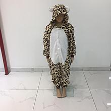 Детская пижама кигуруми гепард