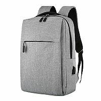 Стильный противоударный рюкзак с usb