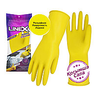 Перчатки латексные прочные (Желтый) Linex