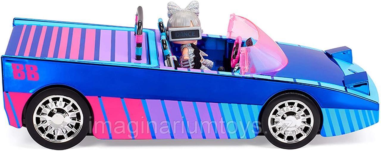 LOL Surprise машина кабриолет ЛОЛ 3 в 1 новая серия Dance