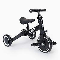 Беговел - велосипед Adventure, black (Happy Baby, Великобритания)
