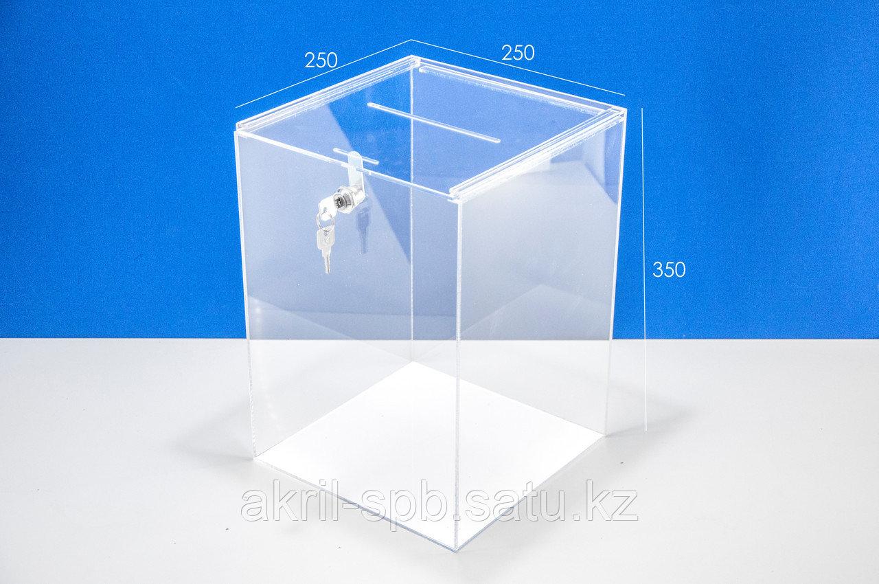Ящик для пожертвований 250х250х350