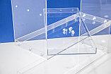 Мини витрина 3-х яр 500х200х500 разборная, фото 7