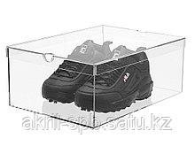 Ящик прозрачный для хранения обуви, 35х25х15см