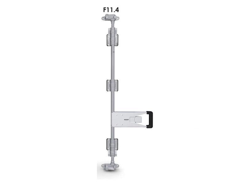Запор штанговый d=27 с ручкой Push (комплект) F11.4