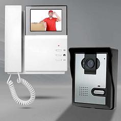 Видеодомофоны, видеоглазки, видеоняни