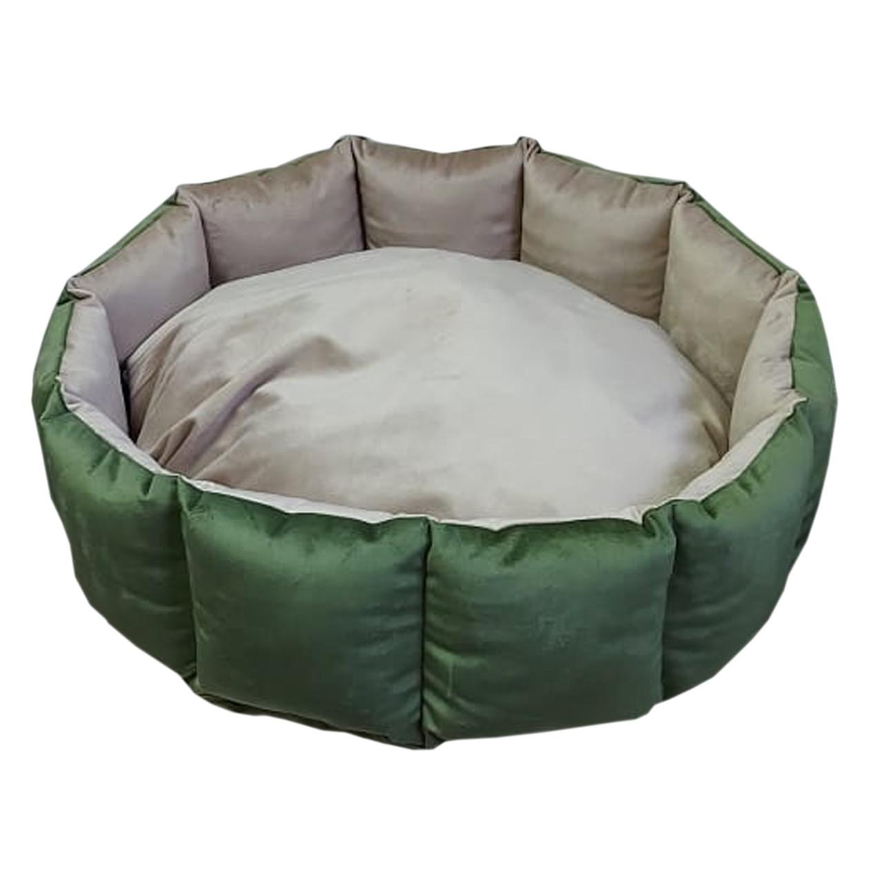 Лежанка круглая для кошек и собак