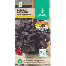 "Семена базилика овощного Евро-семена ""Мавританский""."