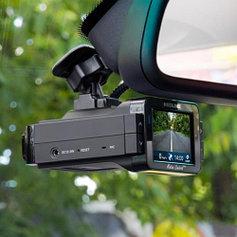 Автомобильные антирадары, радар-детекторы с видеорегистратором