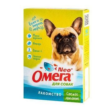Омега Nео+ Витамины для собак, Свежее дыхание